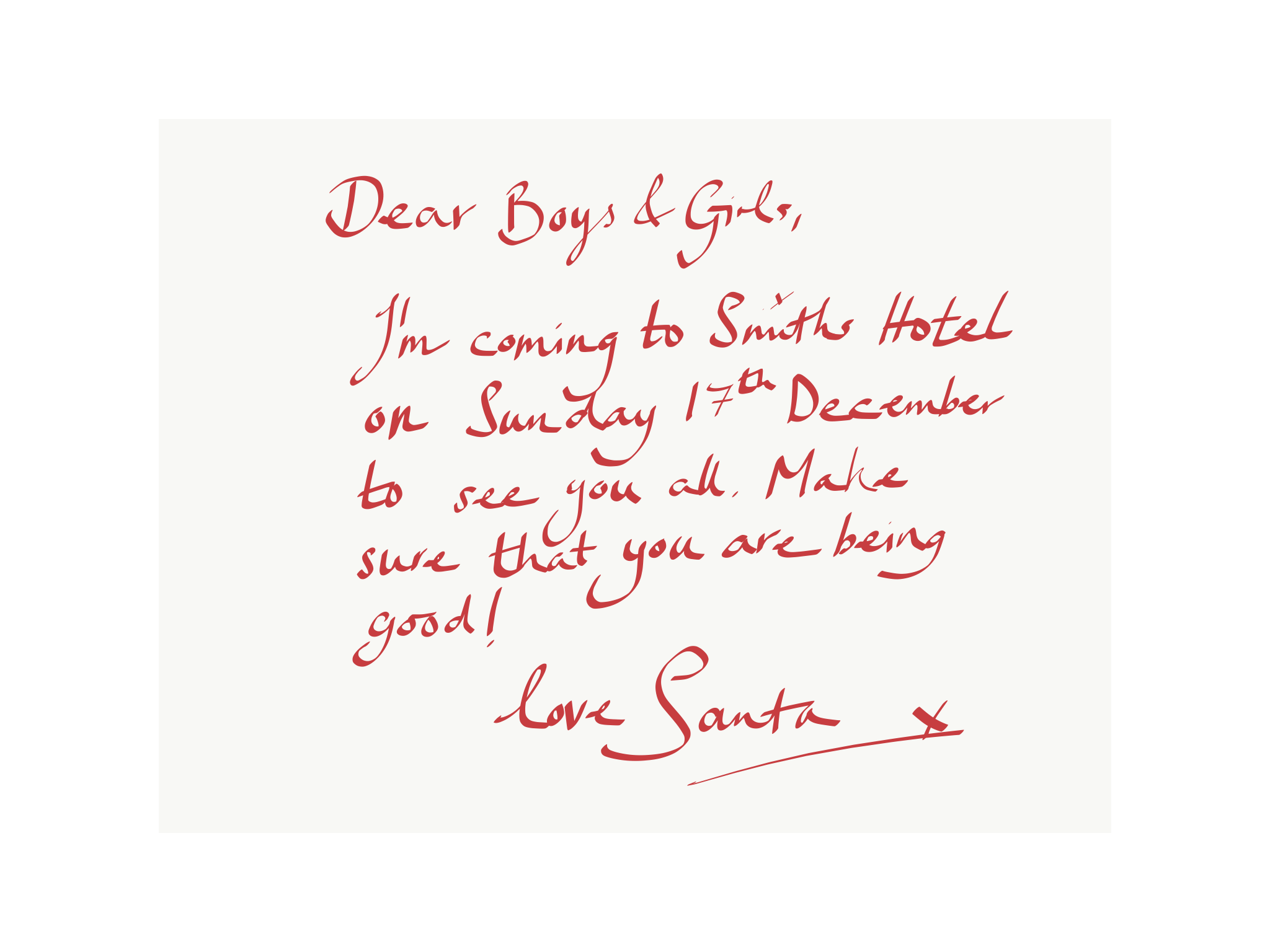 Santa Claus Is Coming To Smiths Hotel Gretna Green  Smiths At