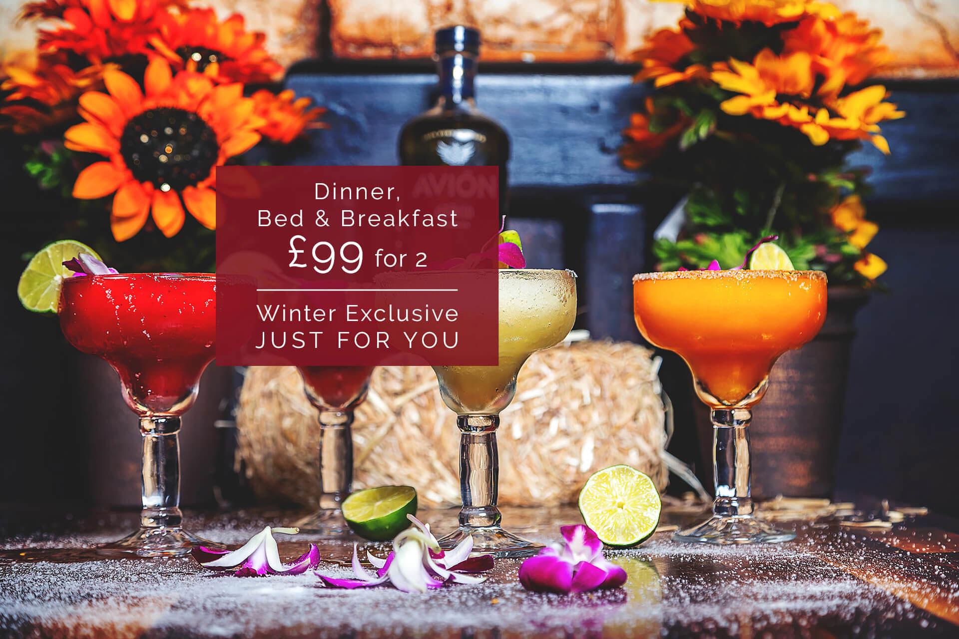 Smiths WINTEX £99 Dinner, Bed   Breakfast